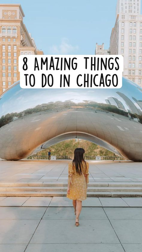 8 Amazing Things  to do in Chicago