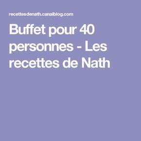 Buffet Pour 40 Personnes Les Recettes De Nath Buffet Pour 40 Personnes Buffet Froid Anniversaire Et Repas Anniversaire
