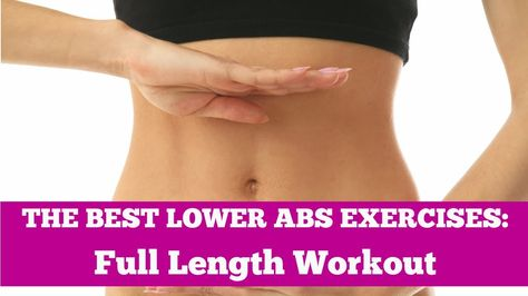 Best Lower Abs Exercises EVER - Full Length 9-Minute Home Workout