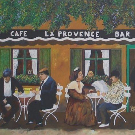 Cafe La Provence by Guy Buffet