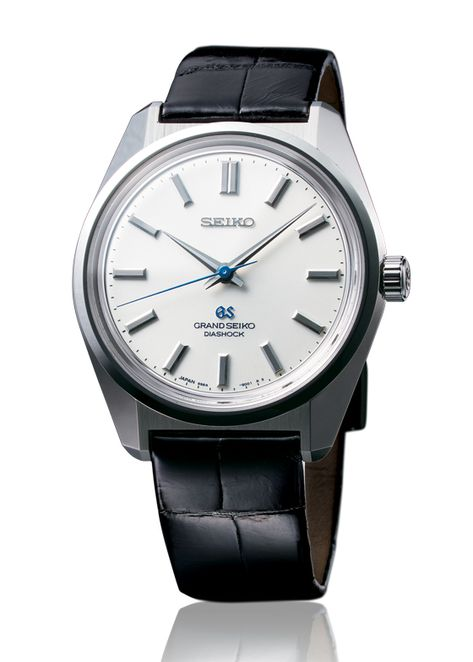"""WATCHTIME: Seiko Grand Seiko 44GS Historical Collection---It was 100 years ago that Seiko introduced its first wristwatch. To mark the occasion, Seiko is bringing back a Grand Seiko classic launched in 1967, the 44GS. That watch, named for the caliber inside, established the design codes that would come to define Grand Seiko. In the company's words, the 44GS """"invented the grammar of Seiko design,"""" the foundations of which are precision, practicality, and comfort."""