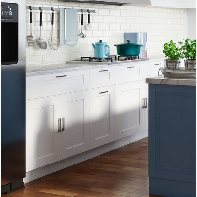 Design House Brookings Shaker 36 X 21 Kitchen Wall Cabinet Finish