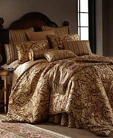 Botticelli Brown 3 Piece Luxury Comforter Set Bed Fash In 2019