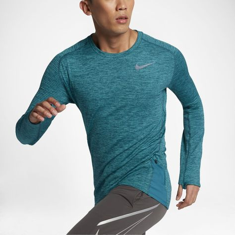 size 40 8b34a f0375 Nike Therma Sphere Element Men s Long Sleeve Running Top Size