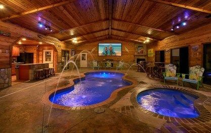 Mountain View Mansion Cabin In Gatlinburg In 2020 Pool House Plans Mansions Mansion Bedroom