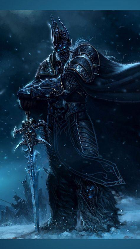 Game Wallpapers World Of Warcraft Arthas Lich King Desktop
