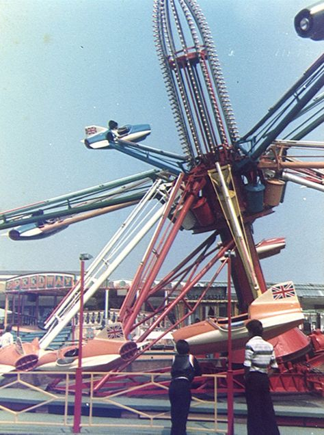 Hurricane Jets Skegness 1977 Carnival Rides Amusement Park Rides Fair Rides