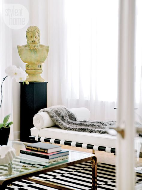 In vogue living room - Style At Home