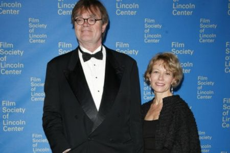 Garrison Keillor with gracious, Wife Jenny Lind Nilsson
