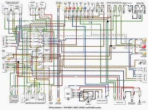 10 Bmw Motorcycle Wiring Diagram Motorcycle Diagram Wiringg Net Motorcycle Wiring Electrical Wiring Diagram Bmw