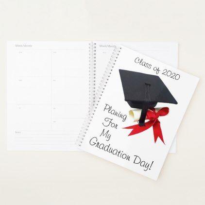 Graduation Day 2020.Class Of 2020 Graduation Day By Janz Planner Zazzle Com