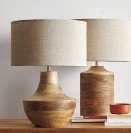Pin Von Clive Sands Auf Wooden Lamp In 2020 Holztischlampen Lampen Wohnzimmer Holztisch