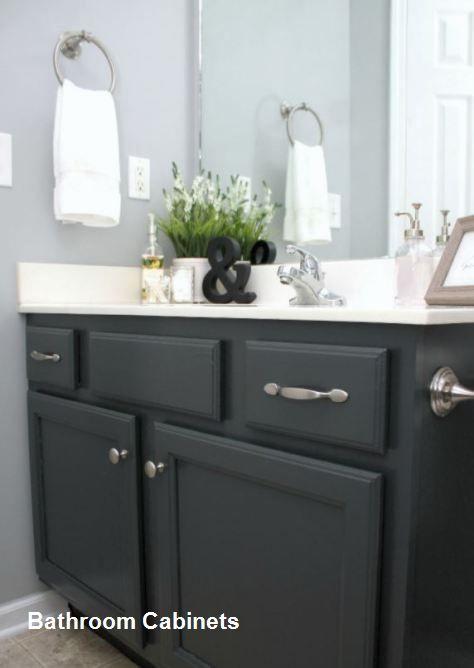 Diy Bathroom Cabinet Makeover Bathroomcabinets Peindre Salle De Bain Peinture Salle De Bain Idees Diy Pour Salle De Bains