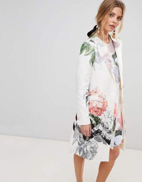 TED BAKER Midi-Rock PETALE | Fesch Anziehen - Fashion Trends ...