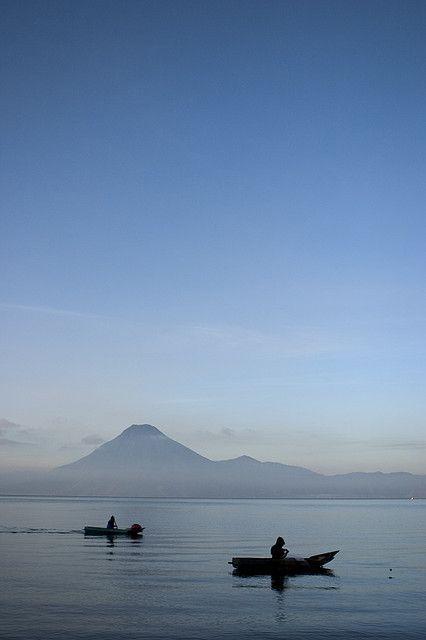 Lake Atitlan, Panajachel, Solola_ Guatemala