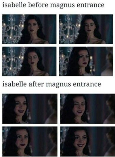 Izzy, the biggest Malec shipper of us all! <3