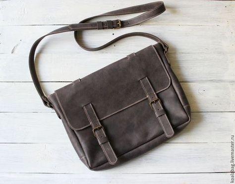 698c5b5e0dc2 Мужские сумки ручной работы. Ярмарка Мастеров - ручная работа. Купить  Мужская кожаная сумка