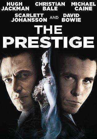 British director Christopher Nolan's (BATMAN BEGINS) eclectic resume gains another interesting entry with THE PRESTIGE. The basic plot, which concerns the rivalry between two magicians in early 20th-c