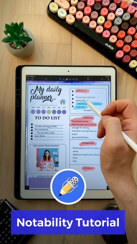 How to import digital planners into Notability