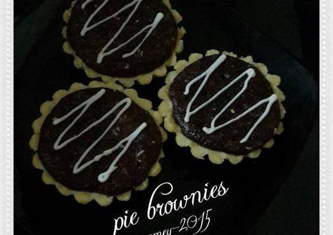 Resep Pie Brownies Renyah N Nyoklat Oleh Amei Resep Kue Pie Adonan