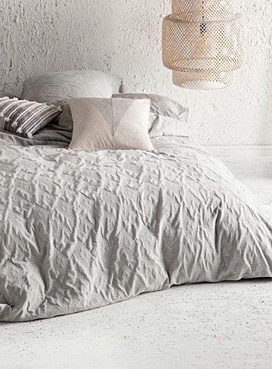 L Ensemble Housse Jacquard Losange Matelasse Duvet Cover Master Bedroom Bed Linens Luxury Bed Linen Australia