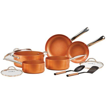 Pin By Patti Geoghan Simmons On Cookware In 2020 Copper Chef Cookware Set Pan Set