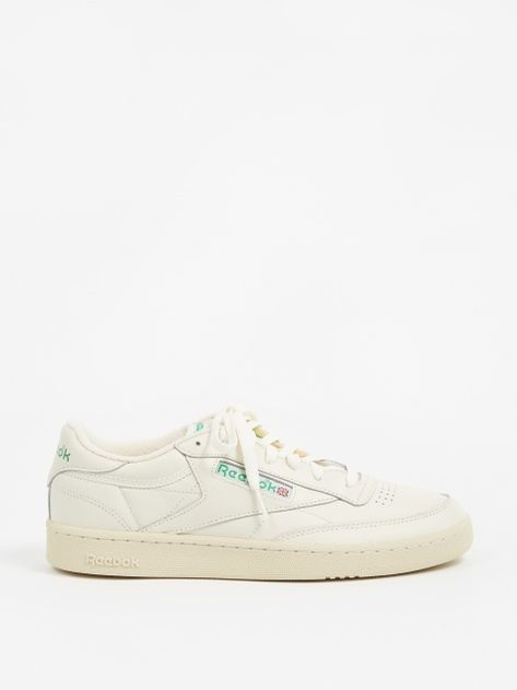 Club C 1985 TV Shoes | Reebok club c, White reebok, Reebok