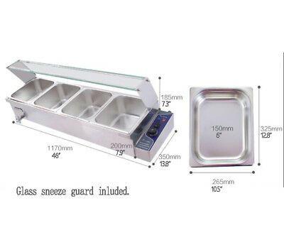 Ad Ebay Url Techtongda 110v1500w 4 Well Bath Warmer Countertop