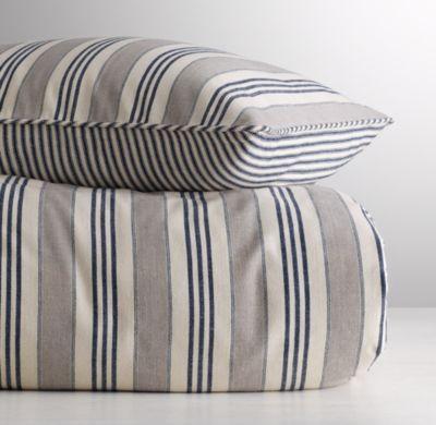 Vintage Ticking Stripe Duvet Cover Striped Duvet Covers Striped Duvet Ticking Stripe Bedding