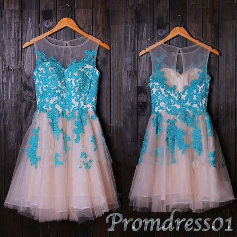 #promdress01 #promdress 2015 cute round neck lace tulle halter short prom dress for teens, bridesmaid dress,homeocming dress, occasion dress ->http://www.promdress01.com/#!product/prd1/4210281761/cute-round-neck-lace-short-tulle-halter-prom-dress #coniefox #2016prom