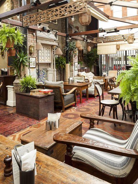 Homegirl London Cafe Design Restaurant Decor Restaurant Design