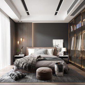 Gemütlich Schlafzimmer Modern Luxus