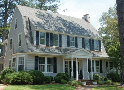 20 Interesting Delightful Gambrel Roof Ideas For 2019 Dutch Colonial Exterior Colonial Exterior Dutch Colonial Homes
