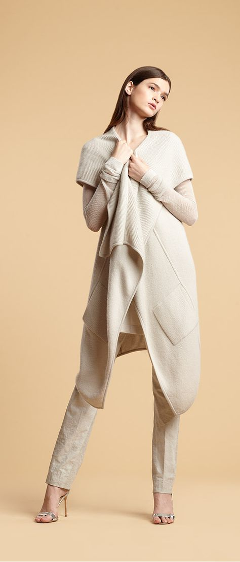 Slip into soft winter staples from Donna Karan this season for a refined look that will keep you warm!