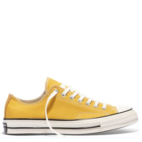 Yellow Converse Chuck Taylor 70 High Top Sneakers For Men