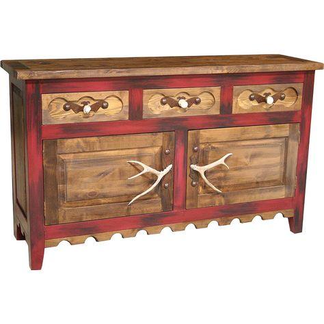Red River Server Nc Rustic Rustic Furniture Western Furniture Rustic