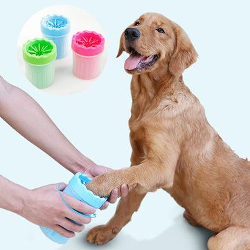 Portable Dog Paw Cleaner Soft Gentle Silicone Pet Cleaning Brush