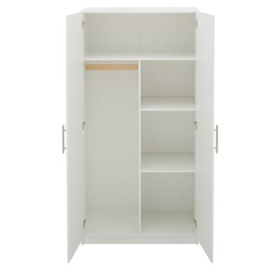 Home Depot 215 Hampton Bay Select 72 01 In H Mdf Storage Cabinet In White Thd337311 1a The Home Depot Storage Cabinet Storage Linen Storage Cabinet