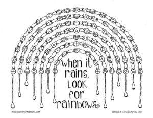 Printable Coloring Page This Rainbow Coloring Page Will Be Fun To Color And Is A Great Way To Coloring Pages Coloring Pages Inspirational Coloring Book Pages