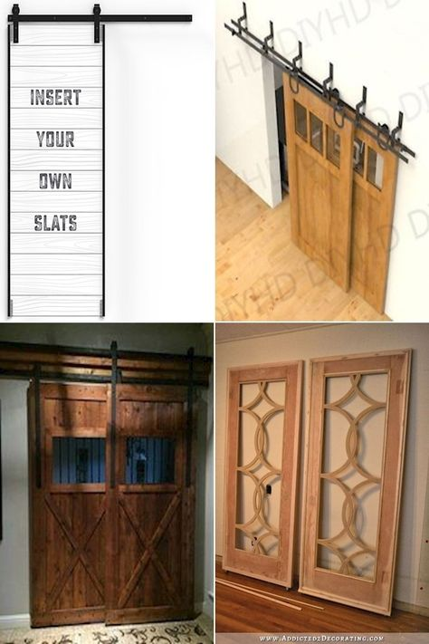 Large Barn Door Double Sliding Interior Barn Doors Small Barn Doors For Sale In 2020 Home Decor Decor Inside