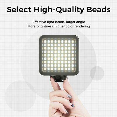 Ulanzi Vijim Vl81 3200k 5600k 850lm Dimmable Portable Fill Light Led Video Lamp Ebay In 2020 Fill Light Led Lights Led
