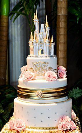 disney wedding 6 Enchanting Disney-inspired Wedding Ideas You Want to Embrace Disney Inspired Wedding, Cinderella Wedding, Wedding Disney, Cinderella Castle, Disney Weddings, Disney Castle Cake, Princess Castle, Fairytale Wedding Cakes, Princess Wedding Cakes