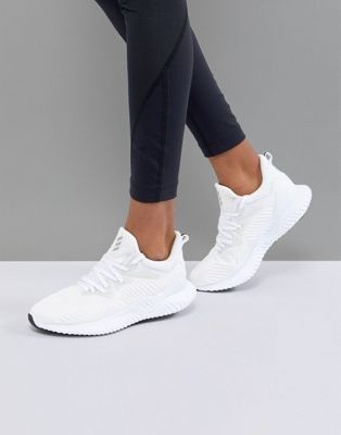 adidas Alphabounce Beyond In White Adidas White Sneakers