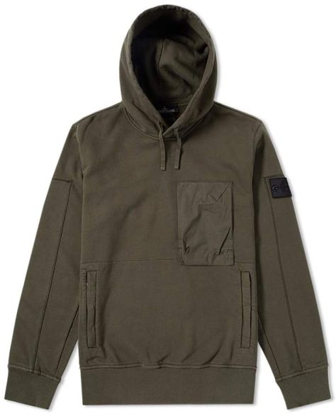 Buy the Stone Island Shadow Project Diagonal Weave Popover Hoody in Military from leading mens fashion retailer END. - only Fast shipping on all latest Stone Island Shadow Project products