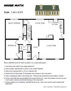 House Math Common Core 7 G 1 Scale Drawing Geometry With