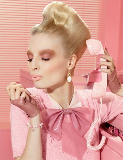 Pretty in pink: MAC Office Hours ad campaign