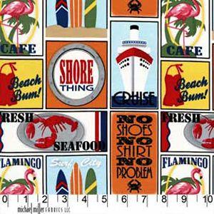 Travel Stickers Seaside ~ Shore Thing @ Sew,Mama,Sew!
