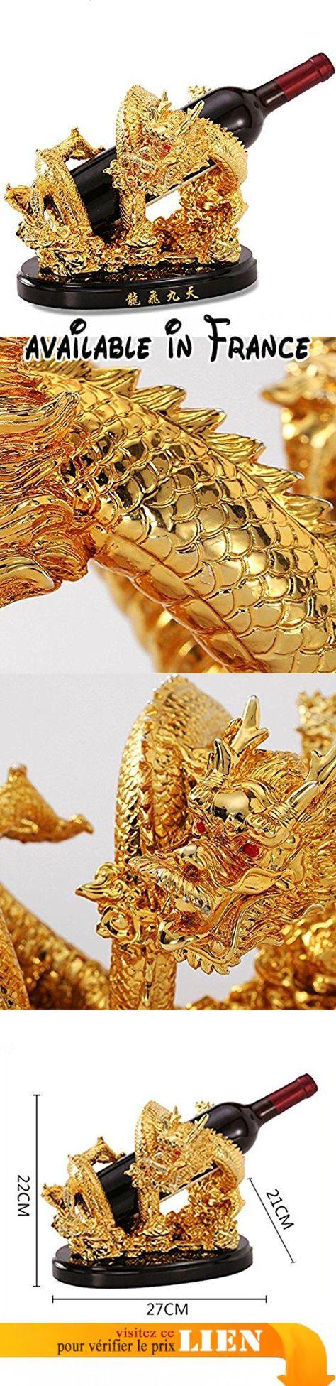 Feifei Porte Bouteilles En Resine Forme De Dragon Creative Vin