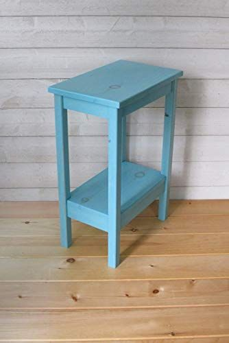 Small Nightstand Chic Mint Green Nightstand Hand Painted Nightstand Small End Table Side Bed T Green Nightstands Painted Bedroom Furniture Bedroom Night Stands