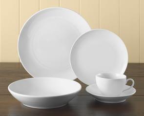 Pillivuyt Coupe Porcelain Dinner Plates Porcelain Dinnerware Dinnerware Buffet Plates